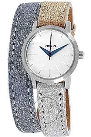 NIXON Womens Analogue Quartz Watch with Leather Strap A403-1875-00