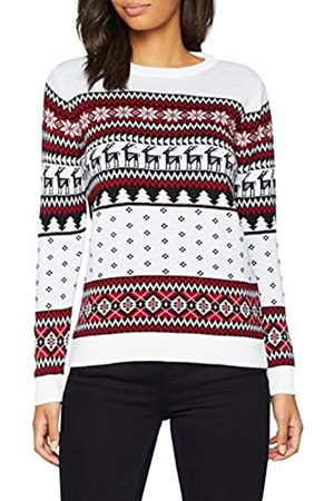 British Christmas Jumpers Women's Classic Fairisle Christmas Jumper