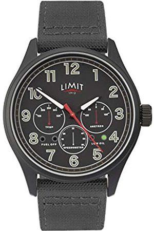 Limit Mens Analogue Classic Quartz Watch with Nylon Strap 5970.01