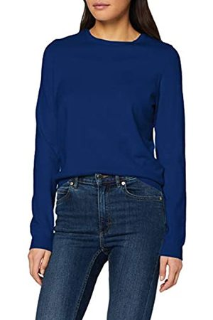 Vero Moda Women's Vmhappy Basic Ls O-Neck Blouse Boo Jumper