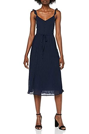 Dorothy Perkins Women's Pleat Button MIDI Party Dress