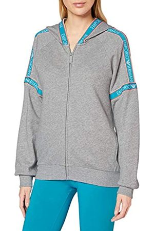 Emporio Armani Women's Visibility - Iconic Terry Full Zip Jacket & Hood Hoodie