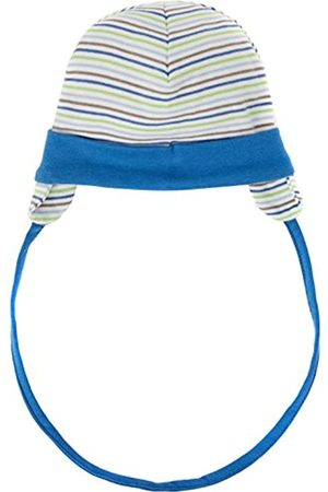 Schnizler Unisex Baby Erstlingsmütze, Bindemütze mit Ohrenschutz, Oeko-Tex Standard 100 Hat, (Grün)