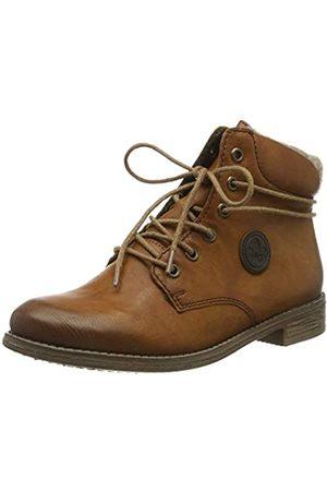 Rieker Women's Herbst/Winter Ankle Boots, (Cayenne/Wood/Kastanie 22)