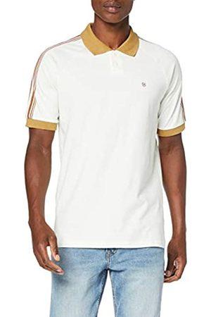 BRIXTON Este Men's Polo Shirt Cream/Khaki Este S/S, Men, 02597-CRMKH-S