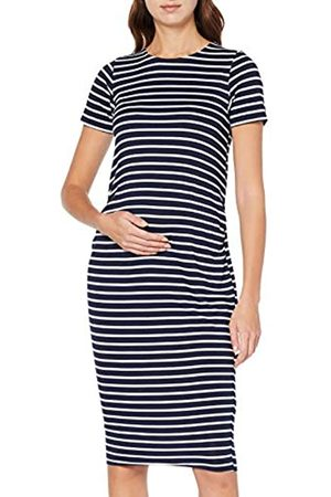 Dorothy Perkins Women's Stripe Sleeve Bodycon Dress