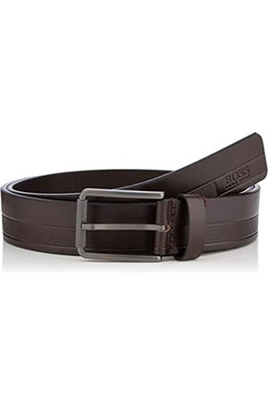 HUGO BOSS Men's Tylir-Stripe_sz35 Belt
