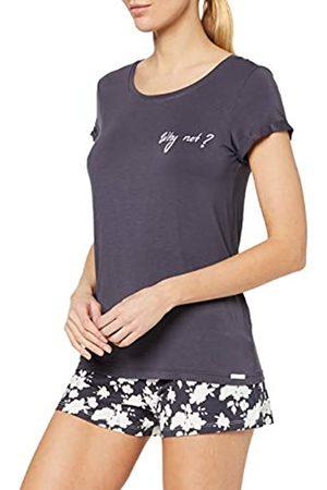 Skiny Women's Damen Pyjama Set Kurz Soul Sleep