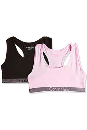 Calvin Klein Girl's 2 Pack Bralette Bustier