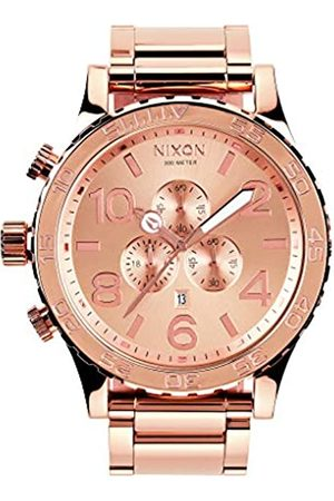 Nixon Unisex Chronograph Quartz Watch with Stainless Steel Strap A083-897-00