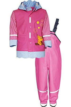 Set Basic rain Jacket Playshoes Girls Regen Rainsuit