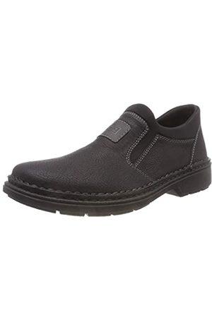 Rieker Men's 5054 Loafers, (Schwarz/Smoke/Schwarz 00)