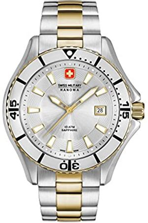 Swiss Military Hanowa Mens Analogue Quartz Watch with Stainless Steel Strap 06-5296.55.001