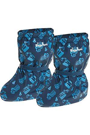 Playshoes Unisex Kids/' Waterproof Footies with Fleece Lining Rain Booties