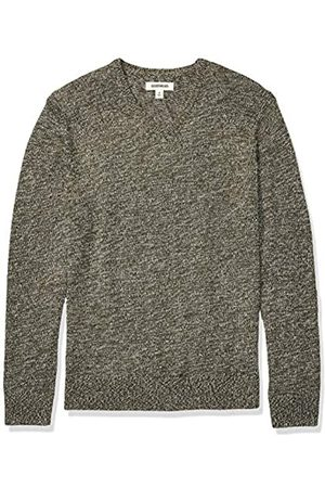 Goodthreads Supersoft Marled V-neck Sweater Olive