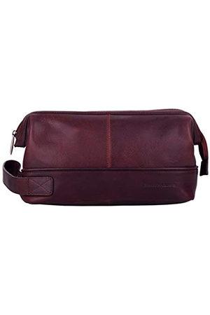 Smith & Canova Mens Zip Top Framed Washbag Backpack
