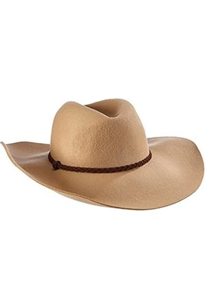 s.Oliver Women's in Wollqualität Panama Hat, -Braun ( 8449)