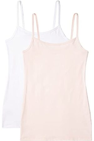 Iris & Lilly Women's Vest in Cami Shape, Pack of 2