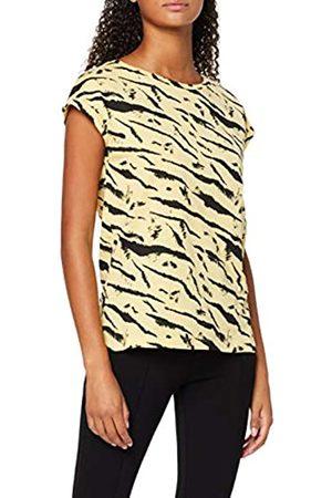 Dorothy Perkins Women's Lemon PRNT Roll Sl T-Shirt