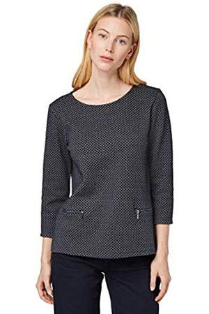 TOM TAILOR Women's Zipperdetail Sweatshirt