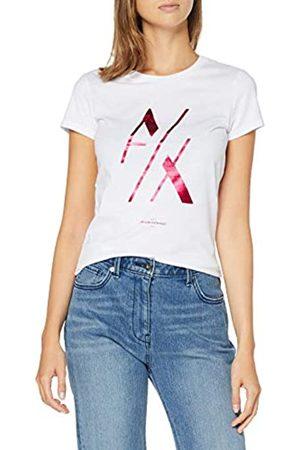 Armani Women's Cutted Logo T-Shirt