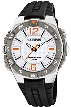 Calypso watches Mens Analogue Classic Quartz Watch with Plastic Strap K5778/1