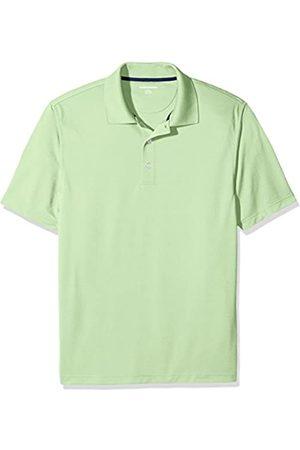 Amazon Essentials Men's Polo Shirt, (Lime )
