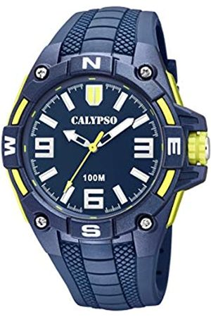 Calypso watches Mens Analogue Classic Quartz Watch with Plastic Strap K5761/2
