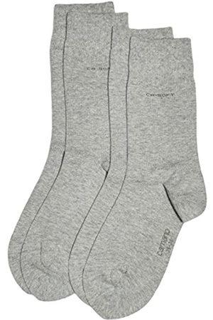 Camano Men's 3642 Calf Socks, Grau (grey 10)