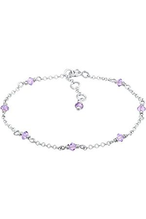 Elli Girls' 925 Sterling Charm Bracelet 0203681218_14 - 14cm length