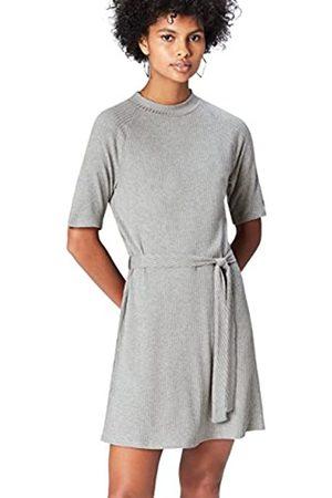 FIND Women's Dress Jersey Tie Detail