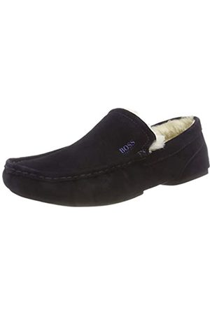 HUGO BOSS Men's Relax_mocc_sdf Mocassins, (Dark 401)
