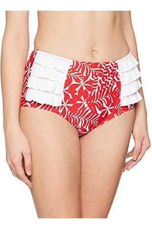 Pour Moi Women's Fiesta Control Brief Bikini Bottoms