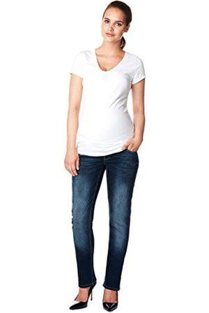 Noppies Women's Jeans OTB Comfort MENA Maternity, -Blau (Dark Stone Wash C296)