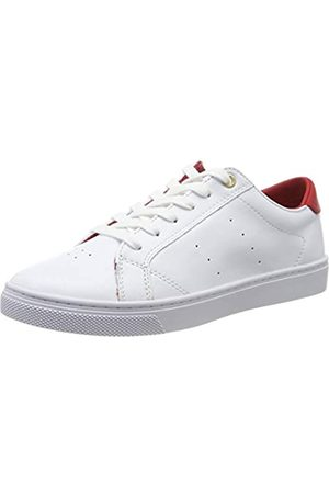 Tommy Hilfiger Women's Lace Up Casual Sneaker Low-Top, ( /Barbados Cherry 0ld)