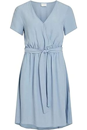 Vila NOS Women's Viprimera Wrap S/s Dress-noos