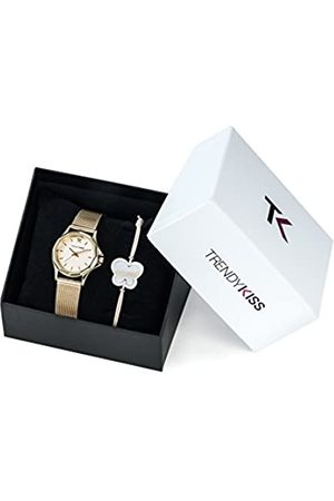 TrendyKiss Trendy Kiss Women's Quartz Watch with Dial Analogue Display and Metal Golden Strap - TMG10060-07A