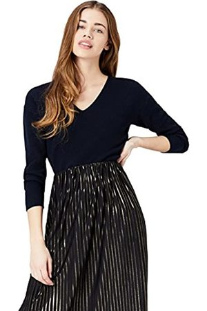 FIND Women's V Neck Jumper