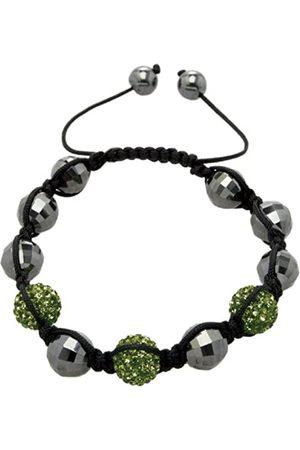 Carlo Monti Women's Bracelet Shamballa Dark Length Adjustable