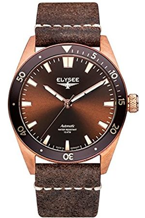 ELYSEE Unisex Adult Analogue Automatic Watch with Leather Strap 98012