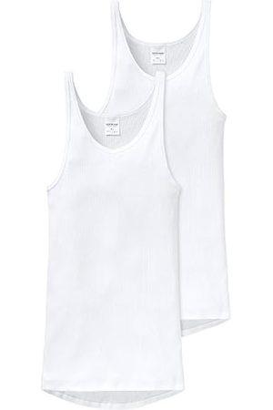 Schiesser Men's Sportjacke Vest, -Weiß (Weiss 100)