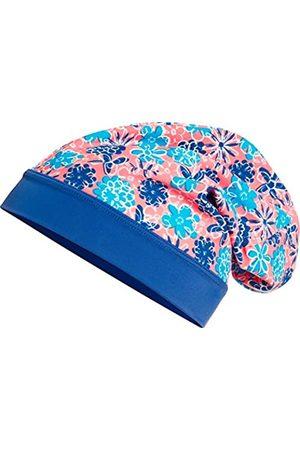 Playshoes Girl's Beanie Veilchen mit UV-Schutz Hat, Multicoloured (lachs)