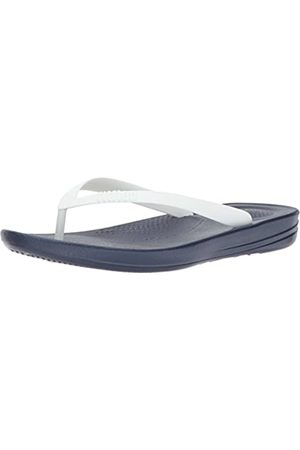 Fitflop Iqushion Ergonomic Flip-Flops, Men Open Toe Sandals, (Midnight Navy Mix 442)