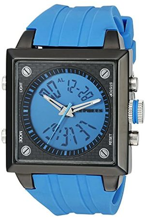 Cepheus Men's Quartz Watch with Dial Analogue - Digital Display and Silicone Strap CP900-633A