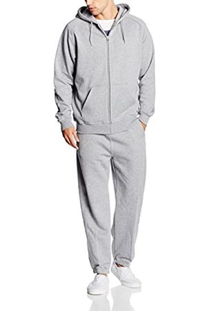 Urban classics Men's Blank Suit Tracksuit, Grau ( 111)