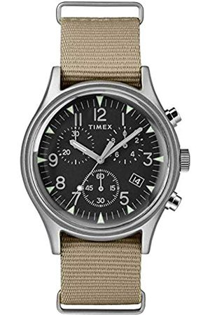 Timex Mens Chronograph Quartz Watch with Nylon Strap TW2T10700
