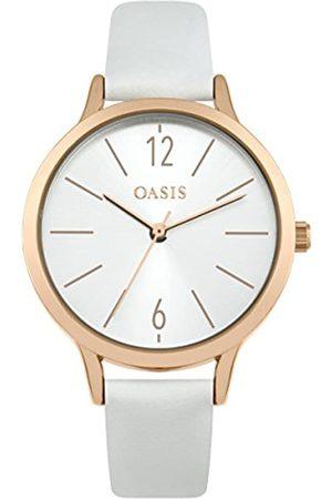 Oasis Womens Analogue Classic Quartz Watch with PU Strap SB009W