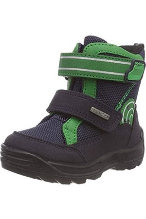 Richter Kinderschuhe Richter Kids Shoes Boys Freestyle Snow Boots, Blau (Atlantic/Grass 7201)