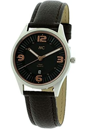 MC Women's Quartz Watch Analogue Display and Leather Strap 51453
