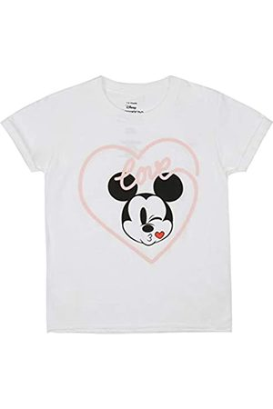 Disney Girl's Mickey Love Kiss T-Shirt